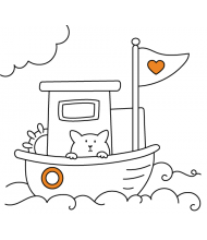Ship to color for kids